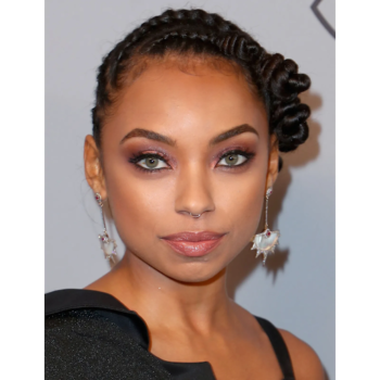 A stunning way to achieve with flat twists